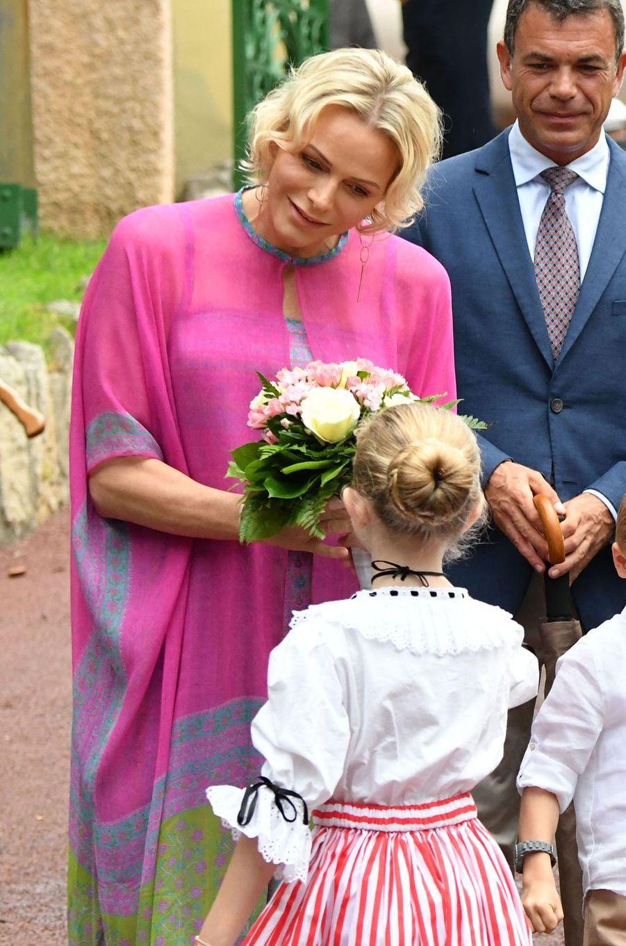 La princesse Charlène de Monaco à Monaco, le 6 septembre 2019