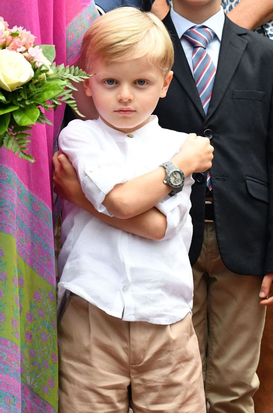 Le prince Jacques de Monaco à Monaco, le 6 septembre 2019