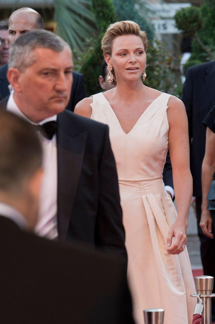La princesse Charlène de Monaco à Monaco, le 19 juin 2018