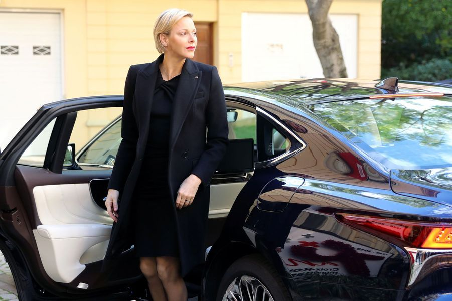 La princesse Charlène de Monaco à Monaco, le 17 novembre 2018