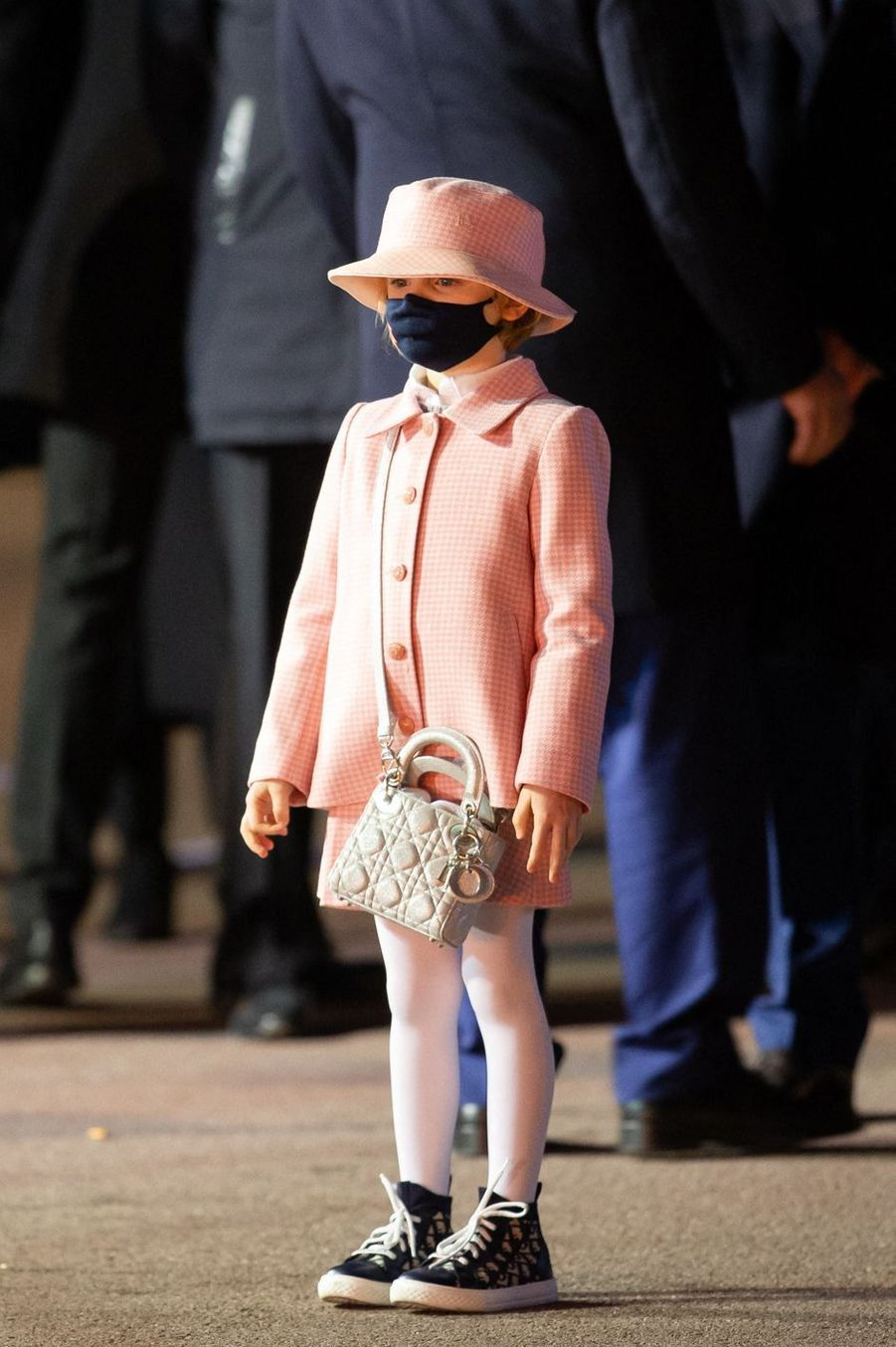 La princesse Gabriella de Monaco, à Monaco le 26 janvier 2021
