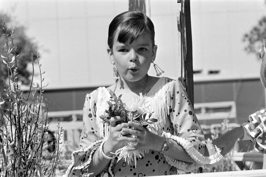 La princesse Stéphanie de Monaco en 1973