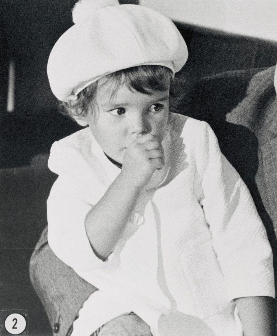 La princesse Stéphanie de Monaco, le 14 août 1967