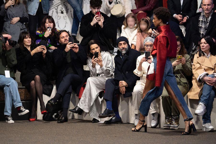 La princesse Stéphanie de Monaco à Paris, le 26 février 2020