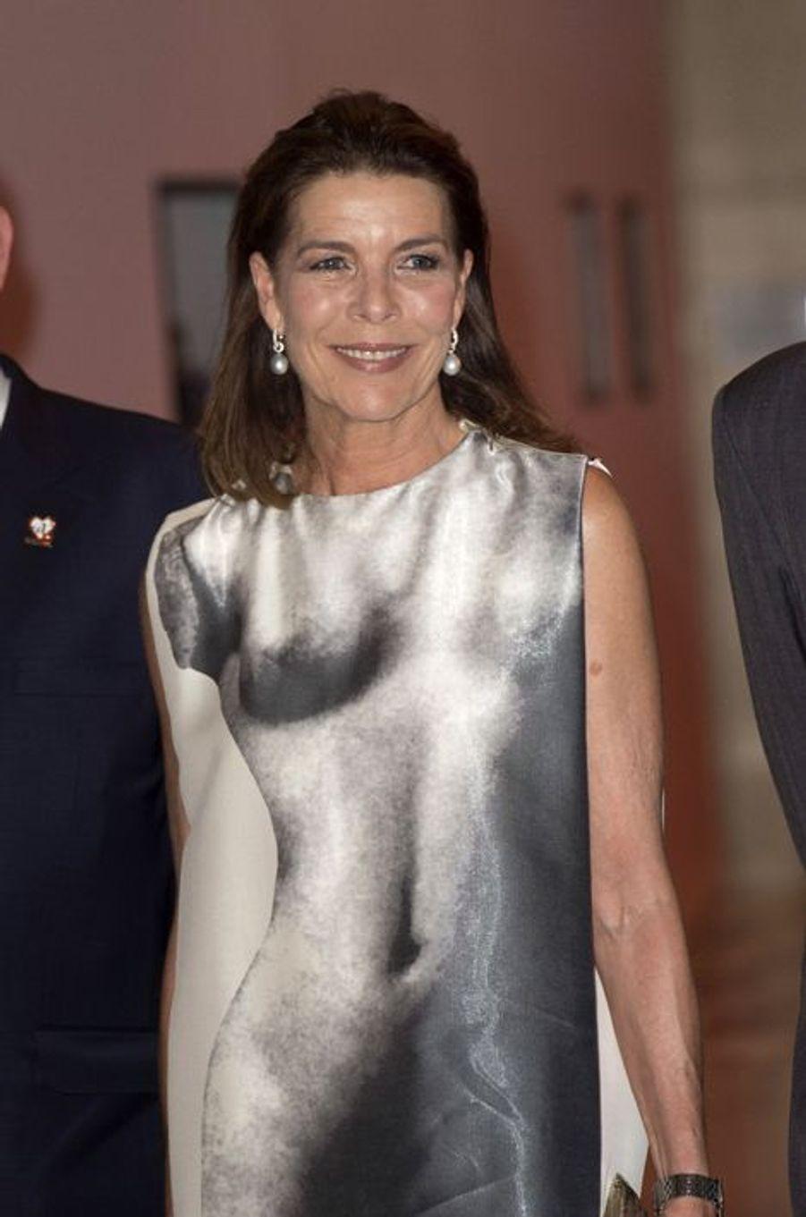 La princesse Caroline de Monaco au gala de la fondation Fight Aids