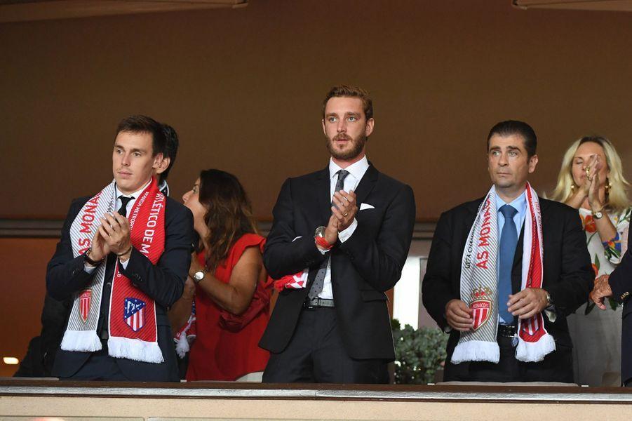 Louis Ducruet et Pierre Casiraghi à Monaco, le 18 septembre 2018