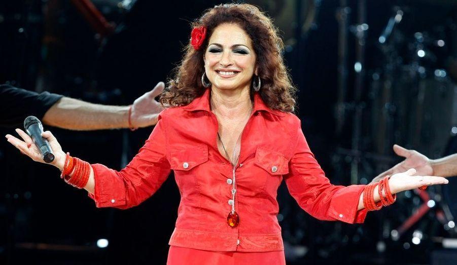 Le concert de Gloria Estefan a été très applaudi.