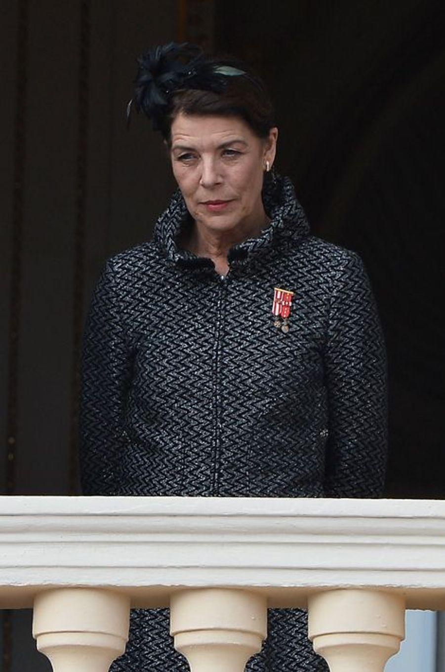 La princesse Caroline de Hanovre à Monaco, le 19 novembre 2015