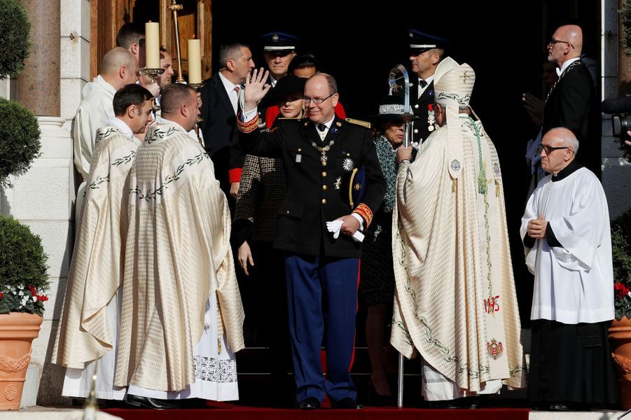 LLe prince Albert II à Monaco, le 19 novembre 2018