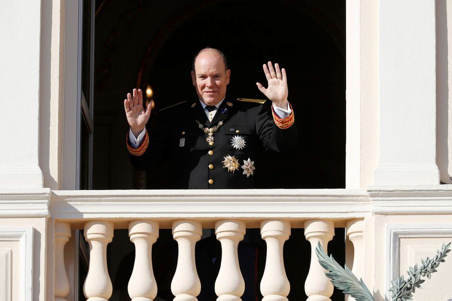 Le prince Albert II de Monaco à Monaco, le 19 novembre 2018