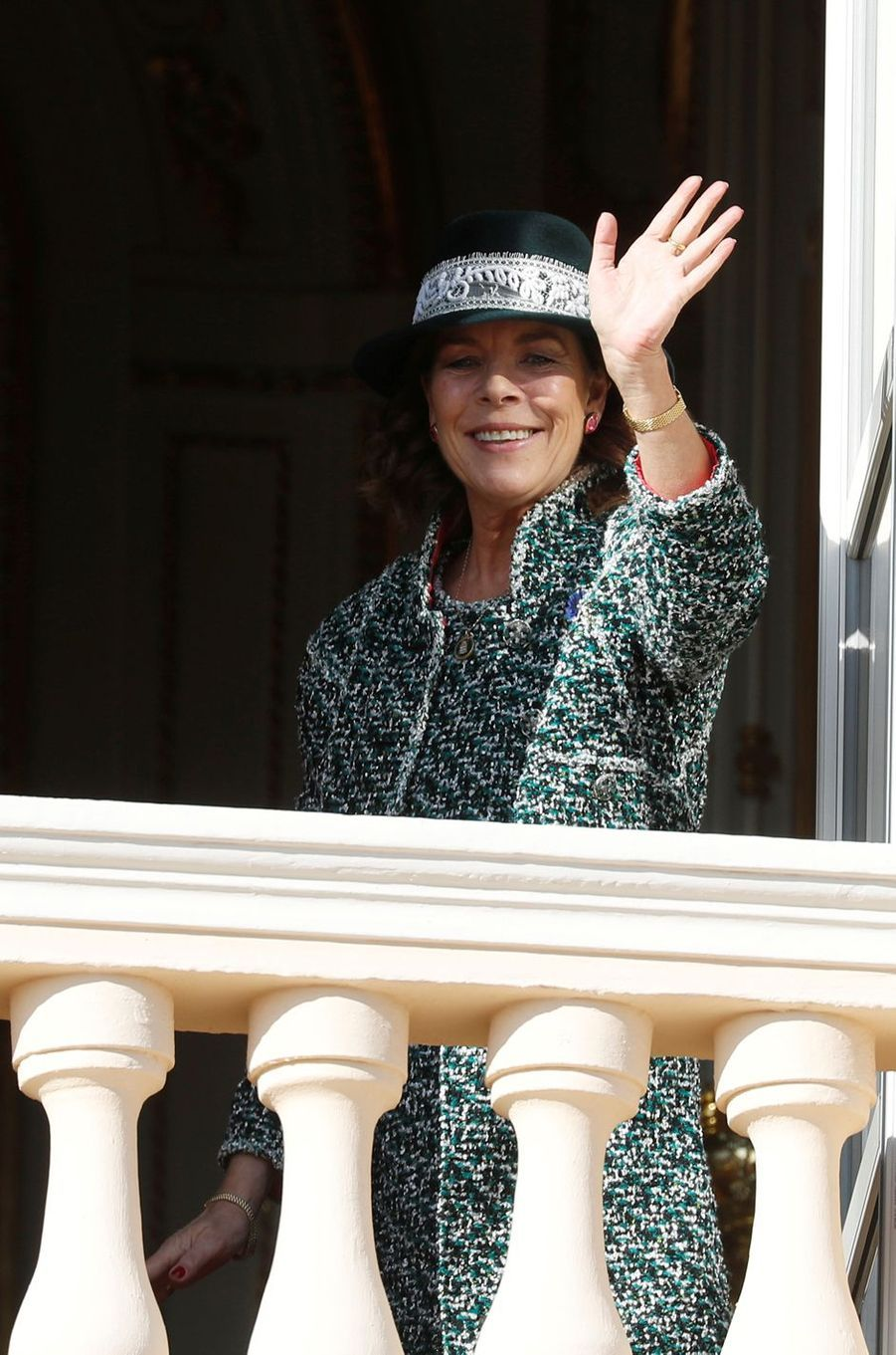La princesse Caroline de Hanovre à Monaco, le 19 novembre 2018