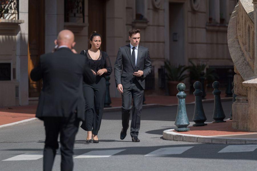 Marie et Louis Ducruet à Monaco, le 17 juin 2020