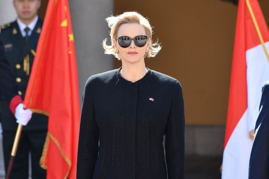 Peng Liyuan, Xi Jinping, Albert II de Monaco et