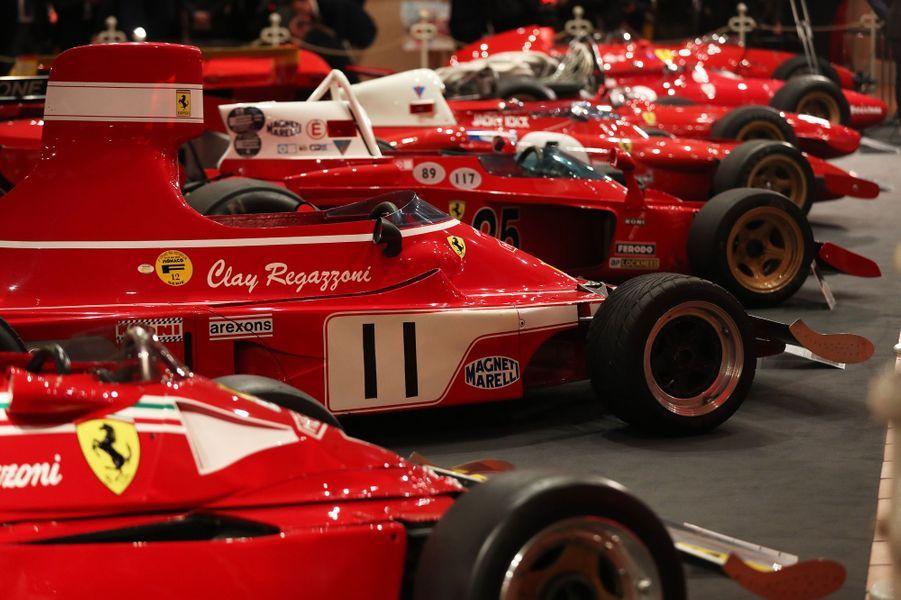 Exposition Ferrari à Monaco, le 3 décembre 2018