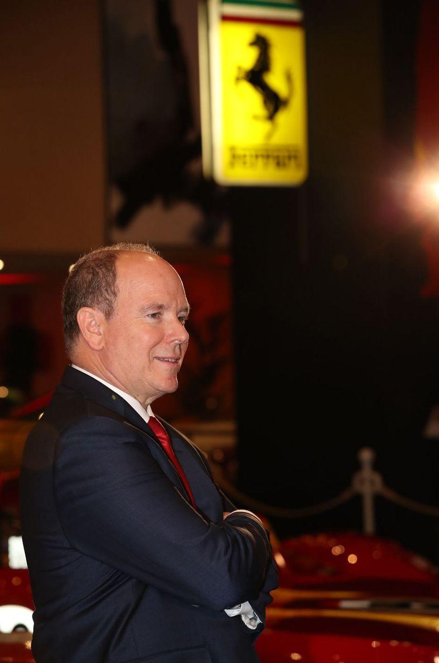 Le prince Albert II de Monaco à Monaco, le 3 décembre 2018