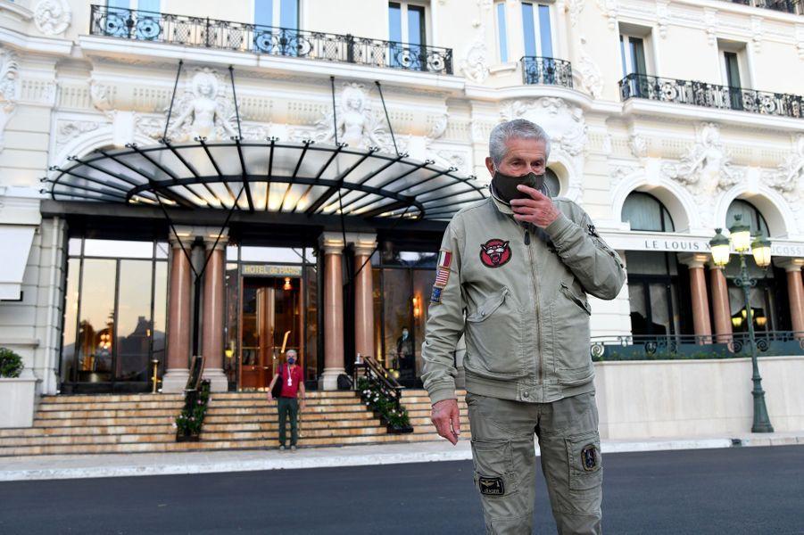 Claude Lelouch à Monaco, le 24 mai 2020
