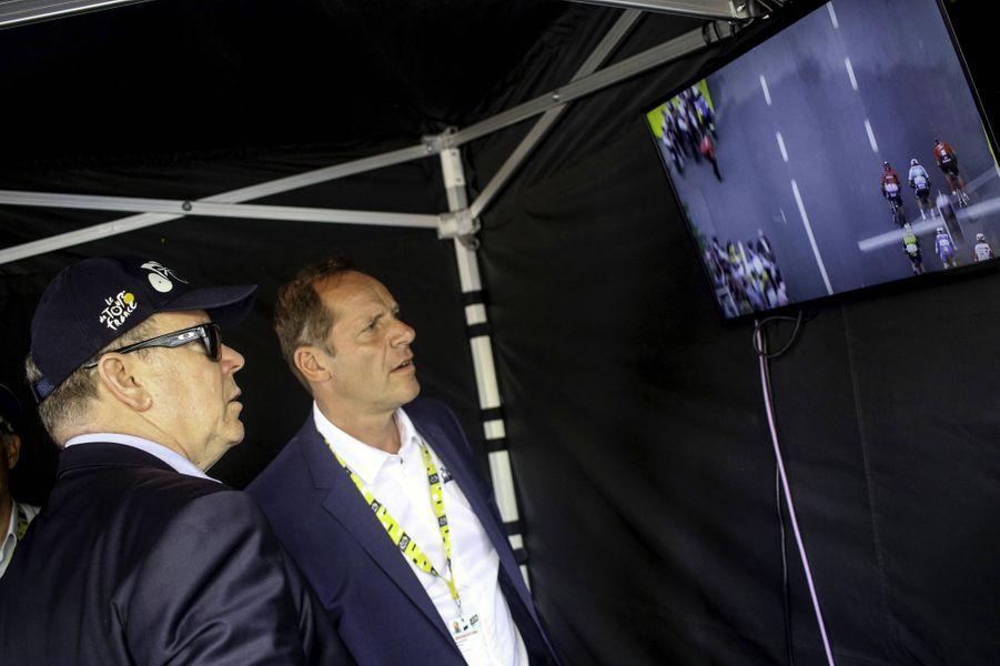 Le prince Albert II de Monaco à Bruxelles, le 6 juillet 2019