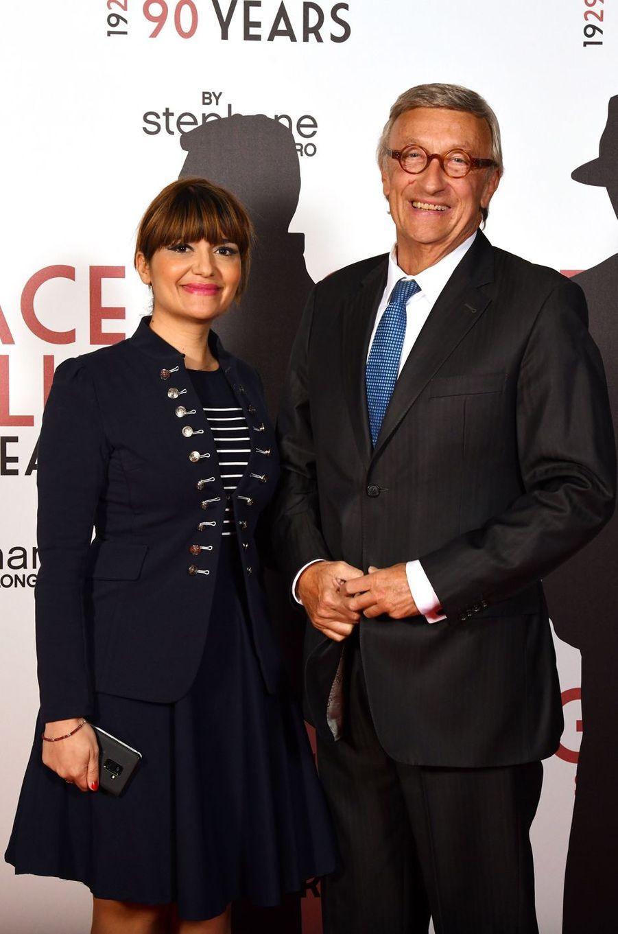 Olivier Lejeune et sa femme à Monaco, le 18 avril 2019