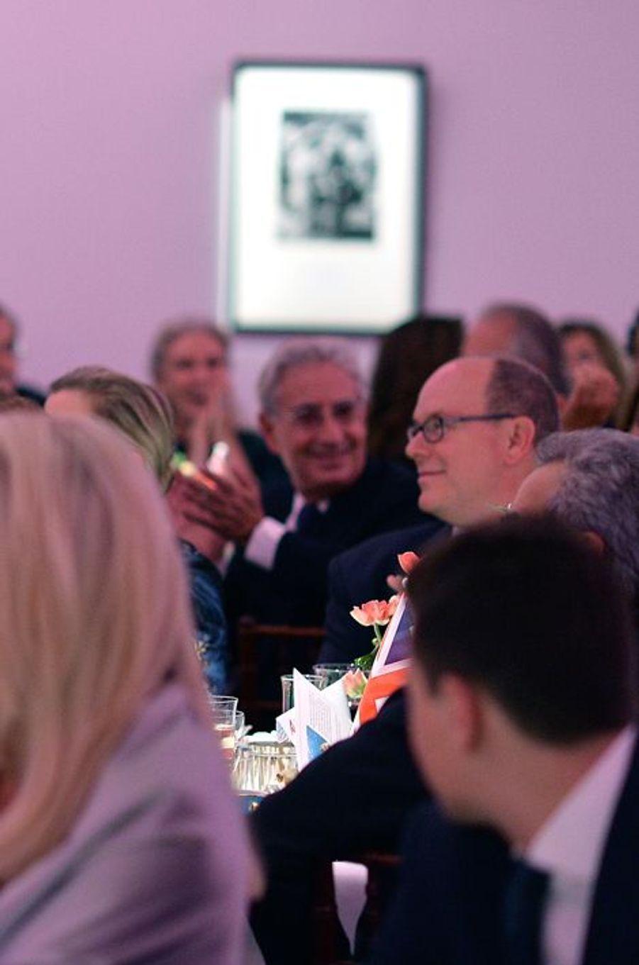 Le prince Albert II de Monaco à Londres, le 29 octobre 2015