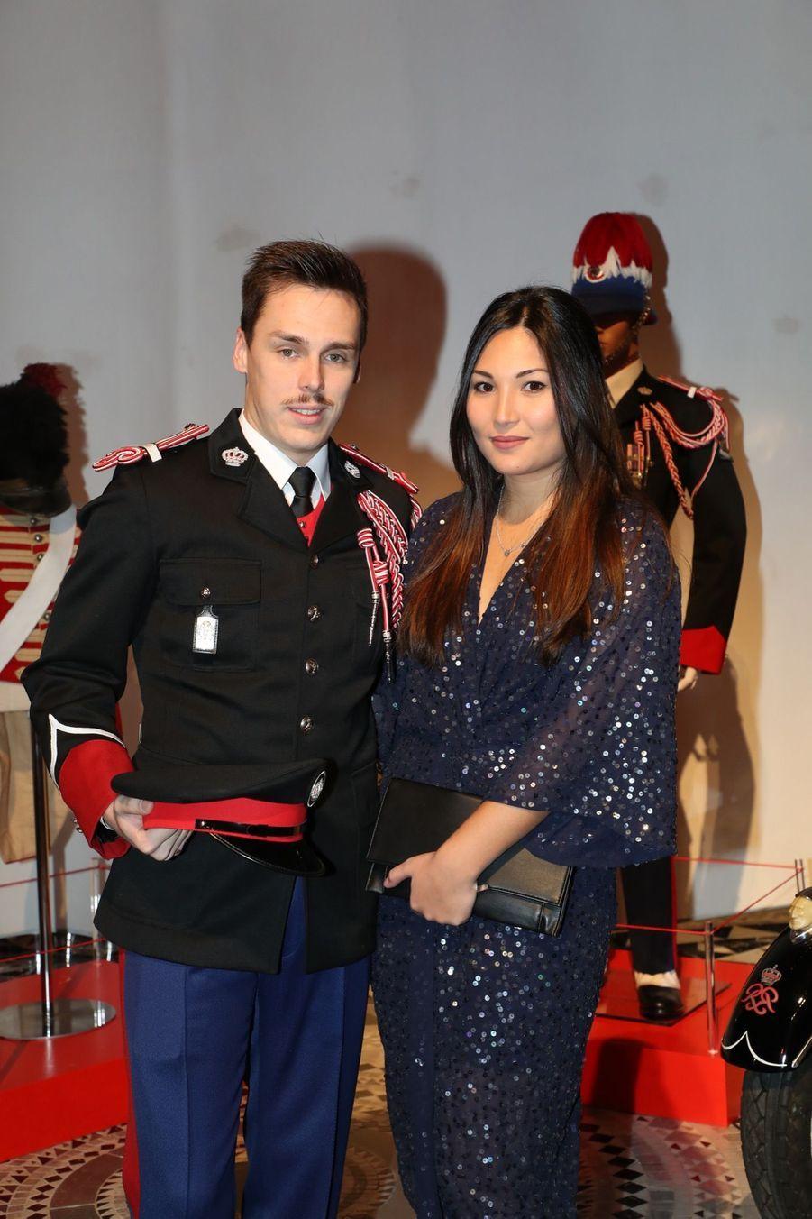 Le Prince Albert, Stéphanie De Monaco Et Louis Ducruet Au Bicentenaire Des Carabiniers 1