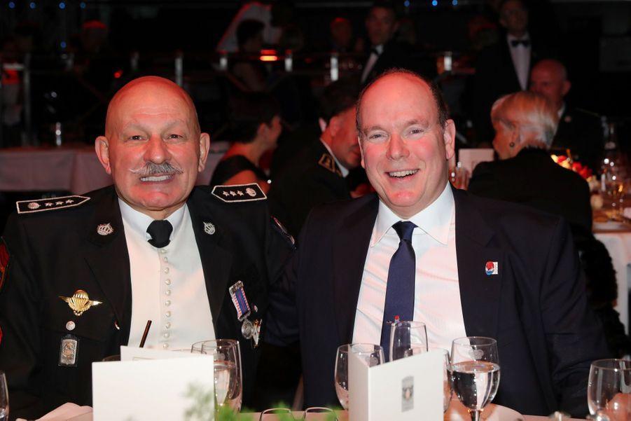 Le Prince Albert, Stéphanie De Monaco Et Louis Ducruet Au Bicentenaire Des Carabiniers 18