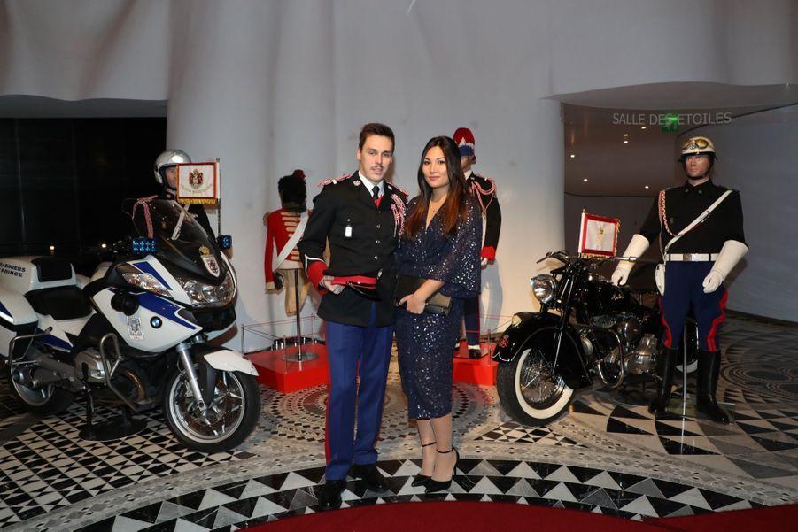Le Prince Albert, Stéphanie De Monaco Et Louis Ducruet Au Bicentenaire Des Carabiniers 2