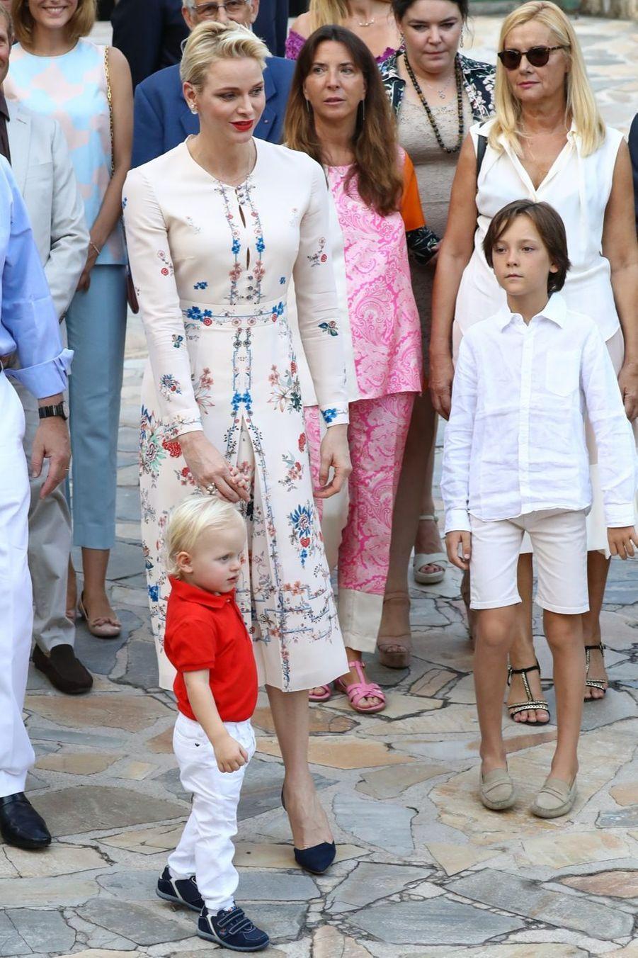 Le prince Jacques de Monaco, vedette du pique-nique de rentrée