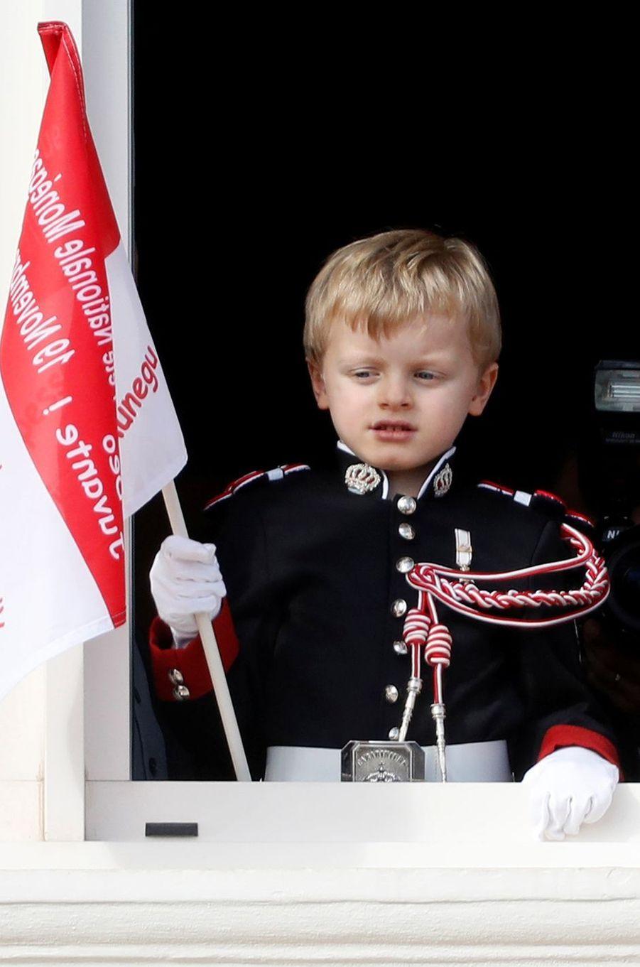 Le prince Jacques de Monaco à Monaco, le 19 novembre 2019