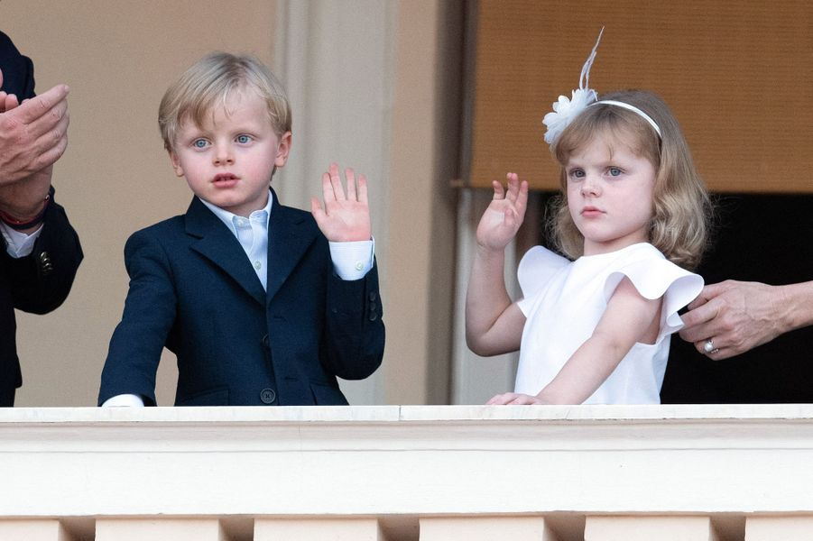 Le prince Jacques et la princesse Gabriella de Monaco à Monaco, le 23 juin 2020