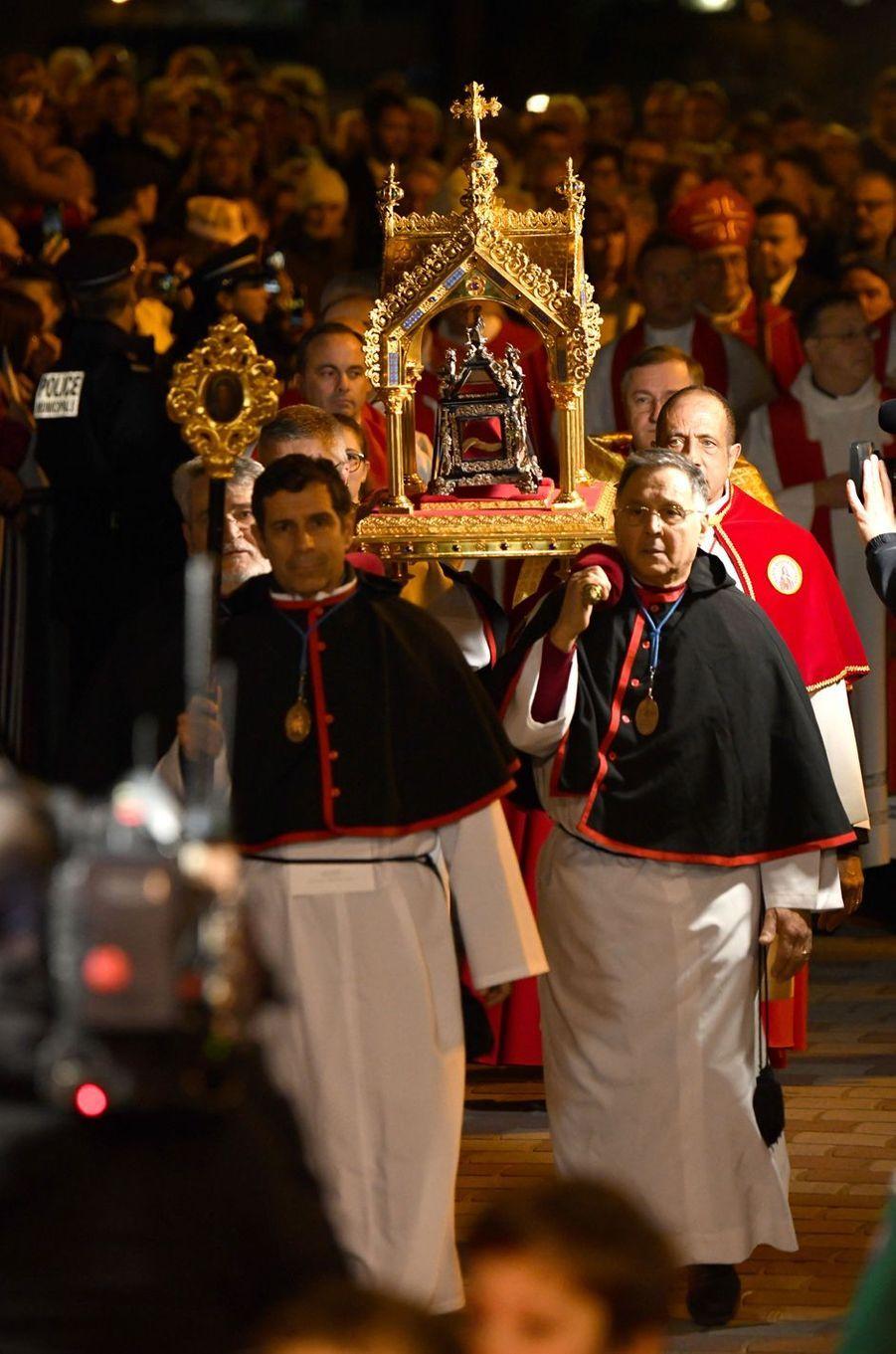La procession de Sainte-Dévote à Monaco, le 26 janvier 2020