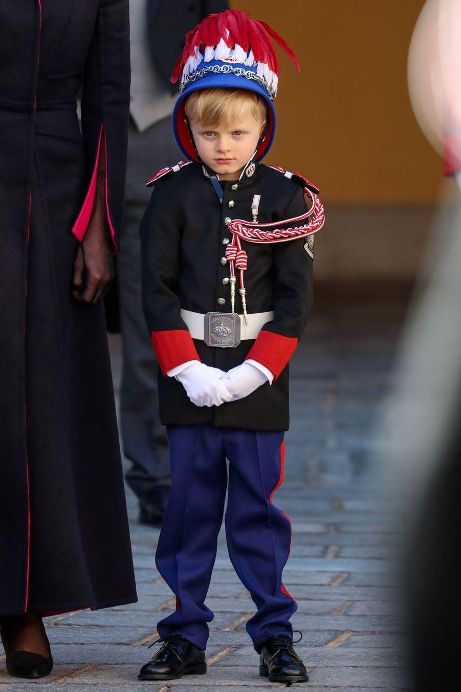 Le prince Jacques de Monaco à Monaco, le 19 novembre 2020
