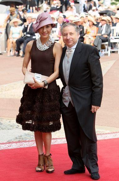 Jean Todt et Michelle Yeoh