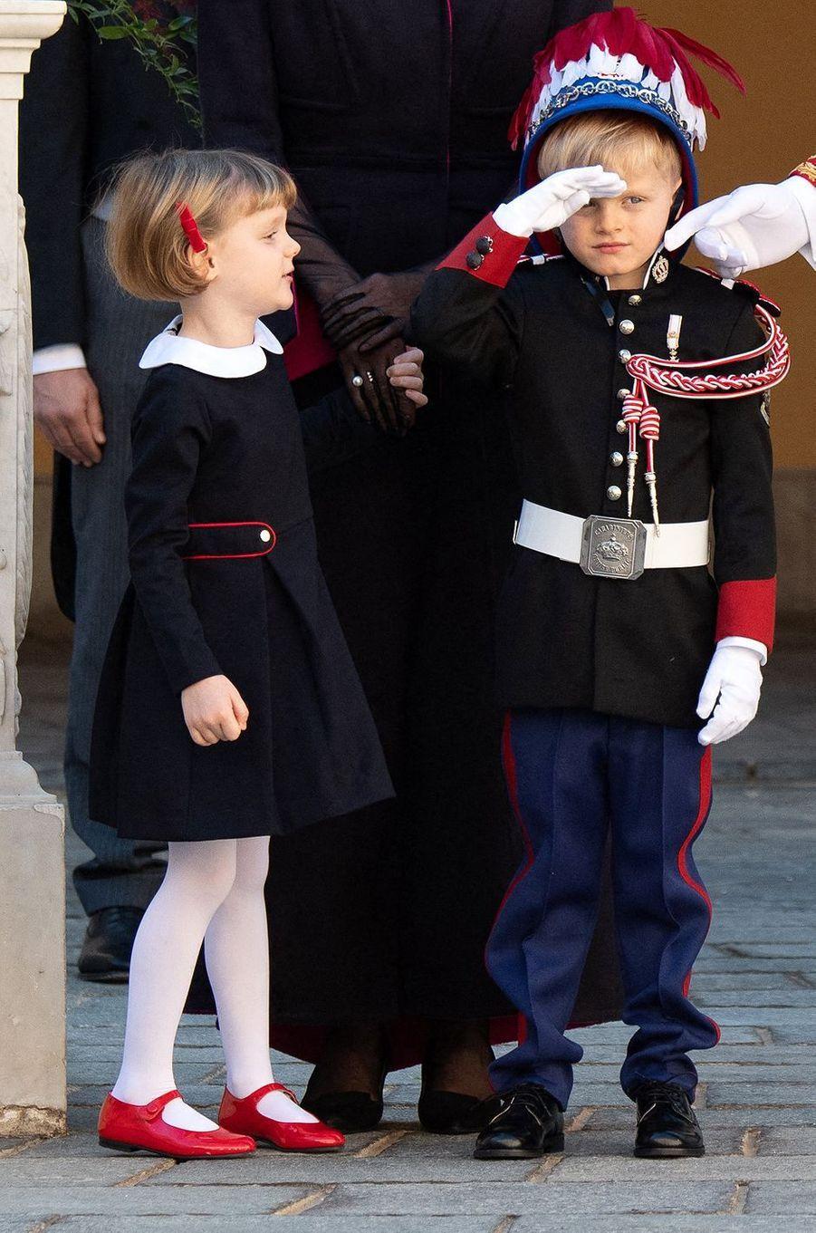 La princesse Gabriella de Monaco à Monaco, le 19 novembre 2020