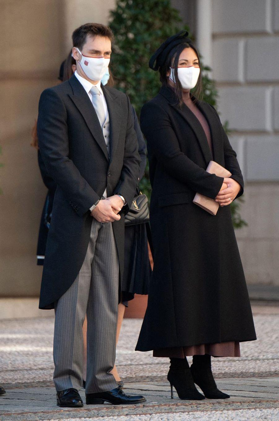 Marie Ducruet à Monaco, le 19 novembre 2020