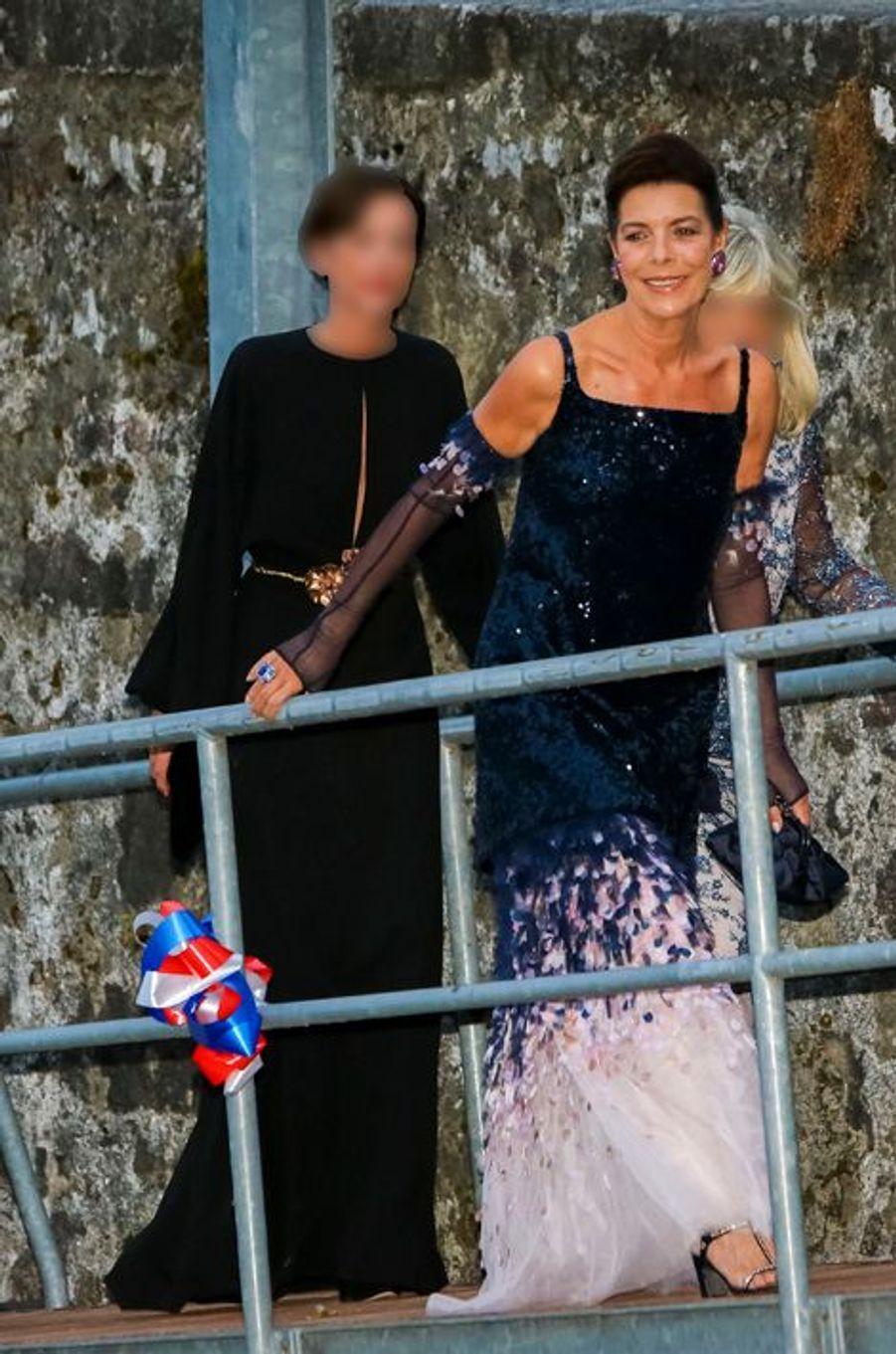 La princesse Caroline de Hanovre à Angera, le 1er août 2015