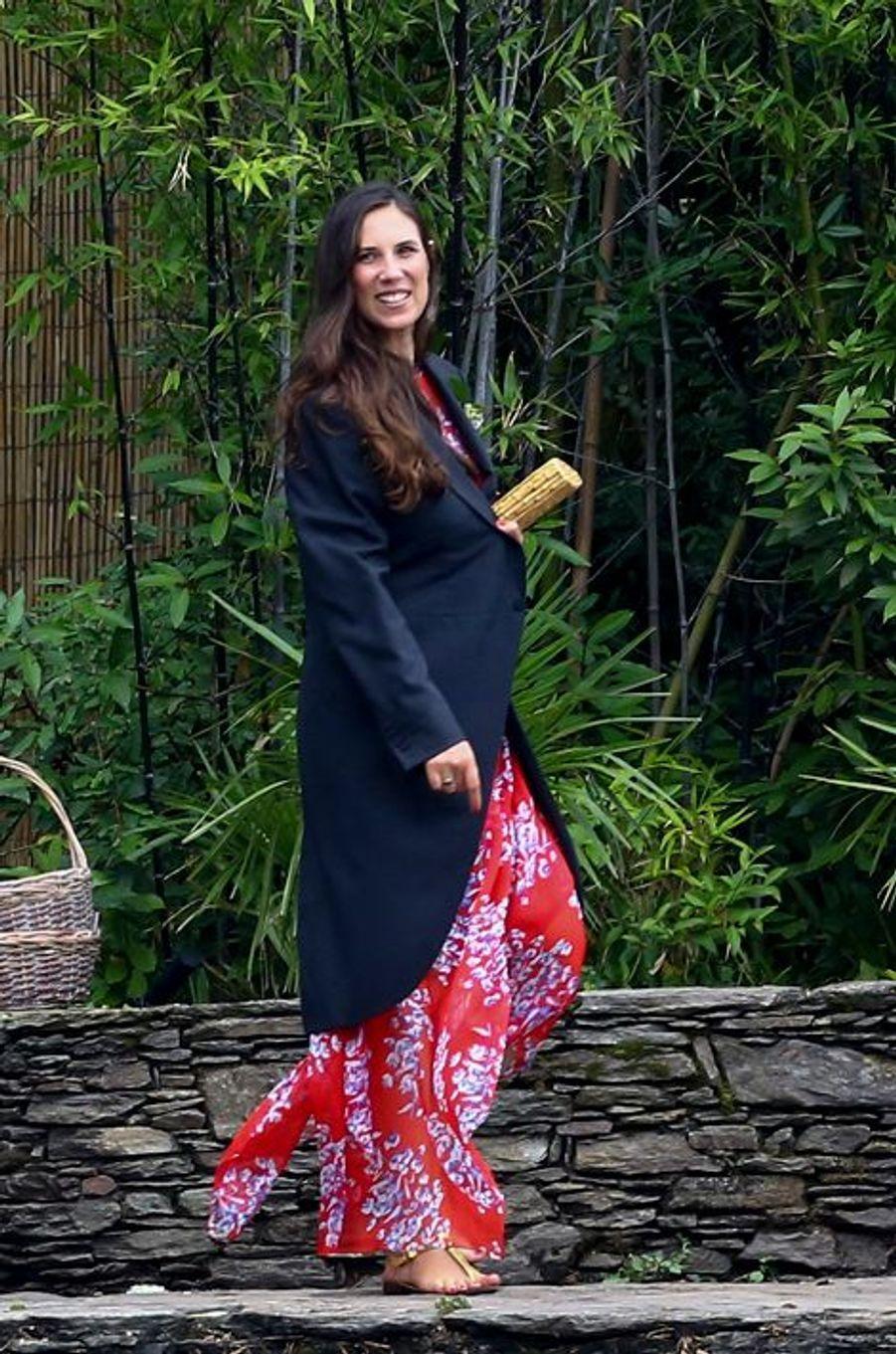 Tatiana Santo Domingo-Casiraghi à Stresa, le 1er août 2015