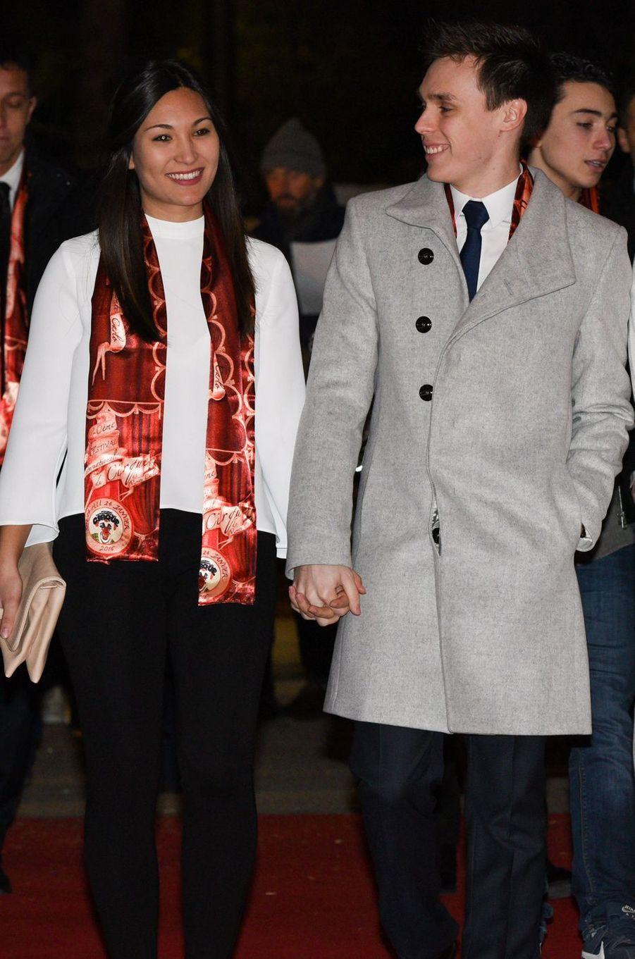 Louis Ducret et Marie Chevallier, le 15 janvier 2016