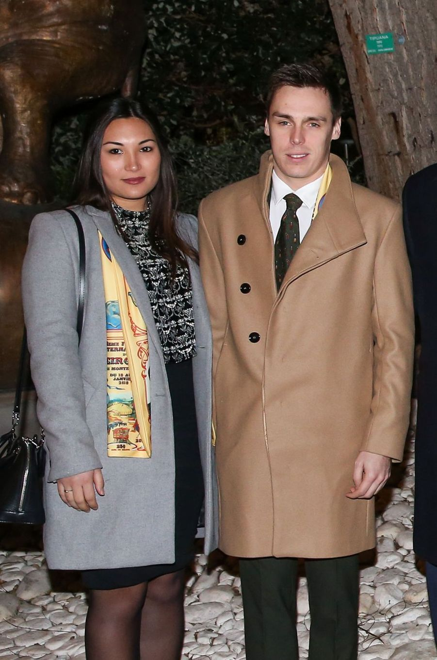 Louis Ducret et Marie Chevallier, le 16 janvier 2018