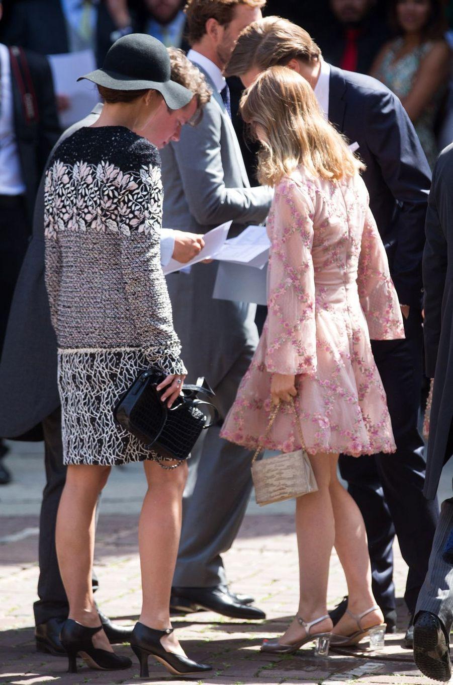 Charlotte Casiraghi et la princesse Alexandra de Hanovre à Hanovre, le 8 juillet 2017