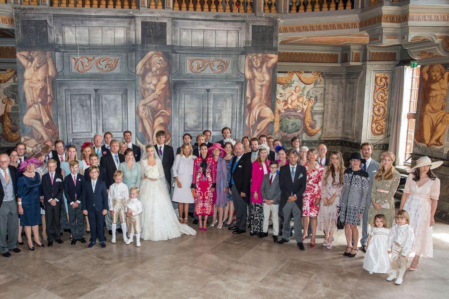 La photo du mariage religieux de Ernst August de Hanovre junior et de Ekaterina Malysheva, le 8 juillet 2017