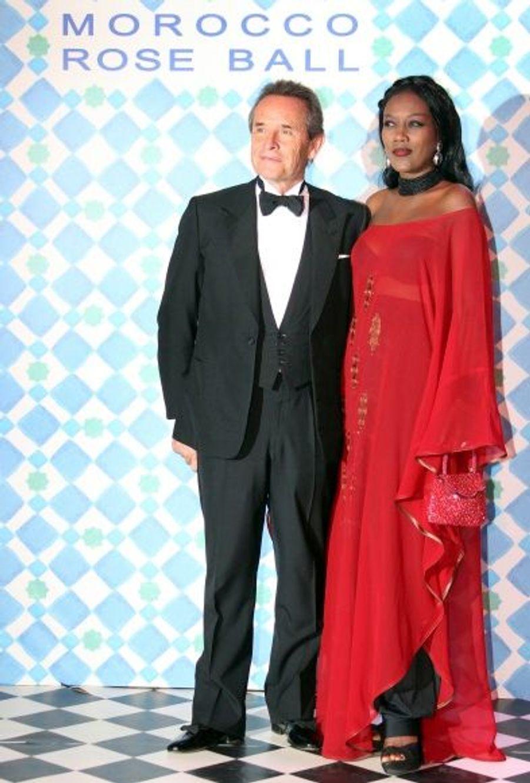 Jacky Ickx et son épouse Khadja Nin