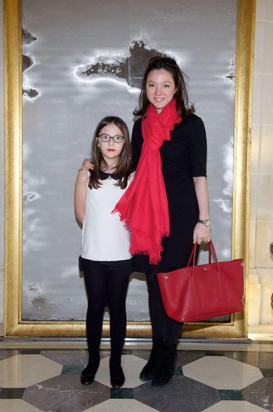 Diane de Polignac Nigra (avec sa fille Ariane), marraine du prince Jacques