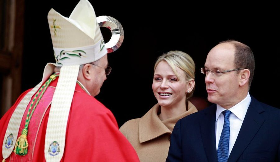 Une messe a été célébrée par Monseigneur Barsi, l'archevêque de Monaco.