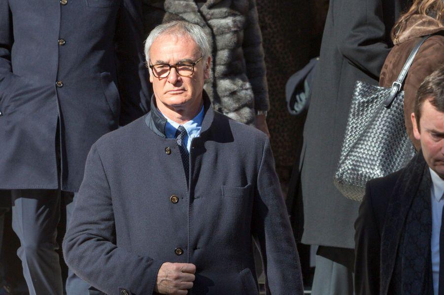 Claudio Ranieri, l'entraîneur de l'AS Monaco