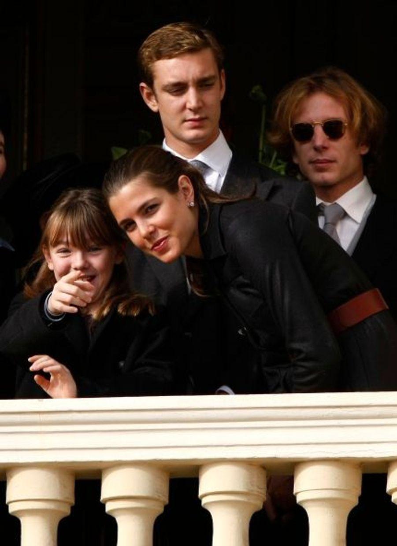 Andrea, Alexandra, Pierre et Charlotte