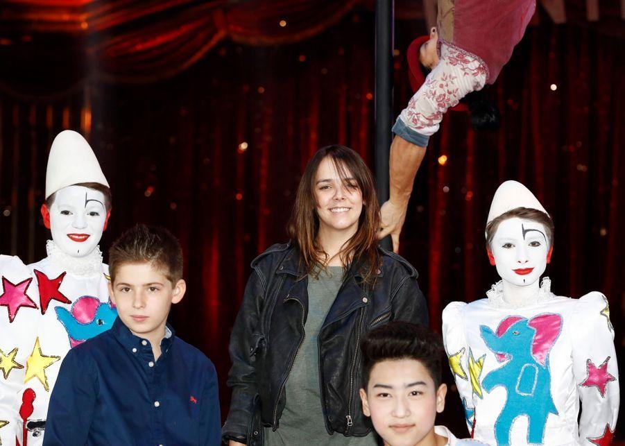 "Pauline Ducruet, Présidente Du Festival Du Cirque ""New Generation"" 1"