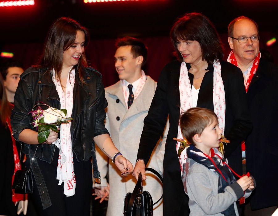 "Pauline Ducruet, Présidente Du Festival Du Cirque ""New Generation"" 13"