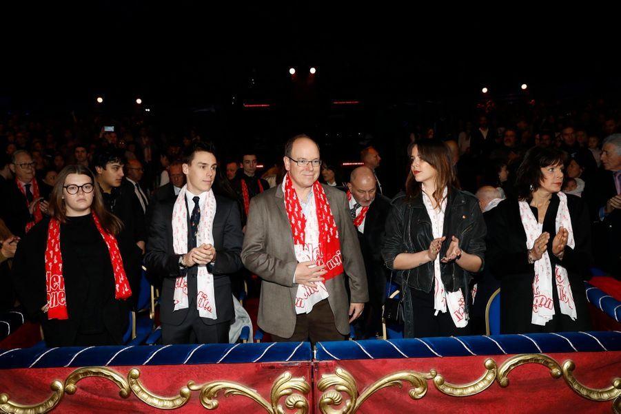 "Pauline Ducruet, Présidente Du Festival Du Cirque ""New Generation"" 19"
