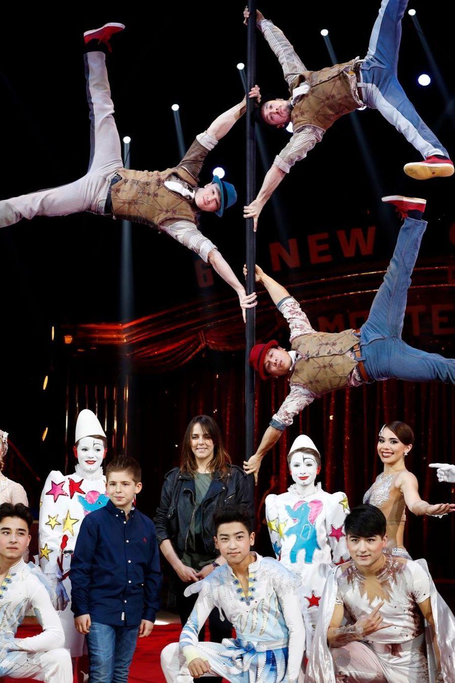 "Pauline Ducruet, Présidente Du Festival Du Cirque ""New Generation"" 3"