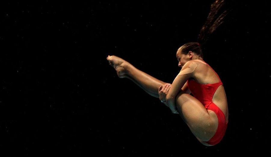 Pauline Ducruet arrive douzième dans la catégorie plongeon aux Jeux Olympiques de la Jeunesse de Singapoure.
